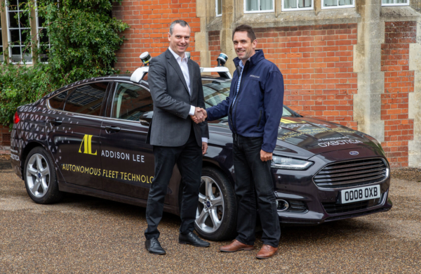 Addison Lee Group and Oxbotica join forces in strategic alliance to make self-driving services a reality in London