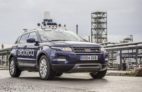 bp and Oxbotica complete industry-first autonomous vehicle  trial at German refinery