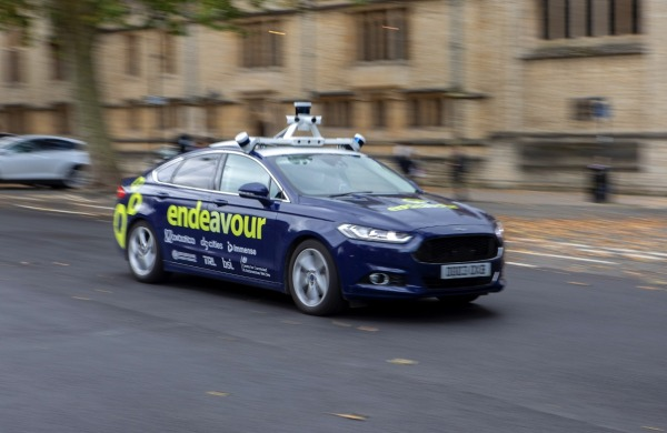 Project Endeavour – the UK's first multi-city autonomous vehicle demonstration begins in Oxford