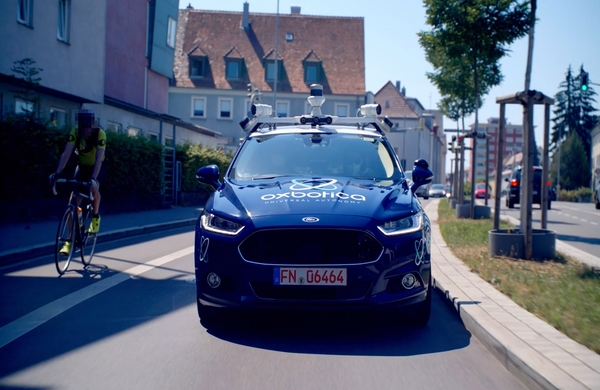 Oxbotica masters driving on the right-hand side of the road as it becomes first UK company to complete automated public trials in Germany